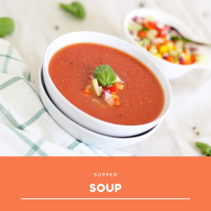 Vegetable soup tomato soup